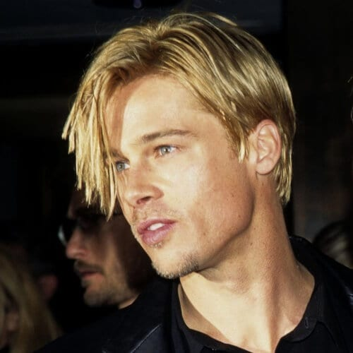 50 Diverse Brad Pitt Hairstyles for You to Try , Men