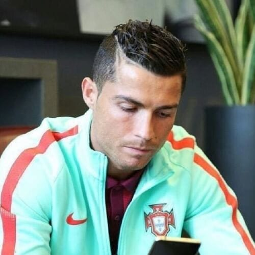 50 Cristiano Ronaldo Hairstyles To Wear Yourself Men Hairstyles World