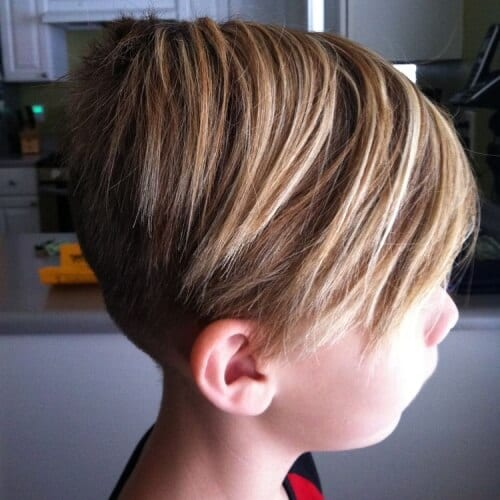 Skater Haircut for Boys