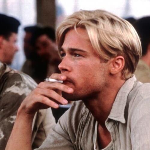 Soft Brad Pitt Hairstyles