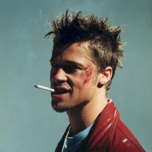 Spiky Brad Pitt Hairstyles