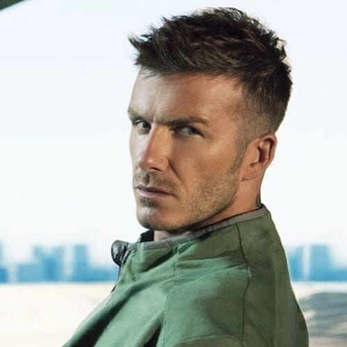 Spiky David Beckham Hairstyles