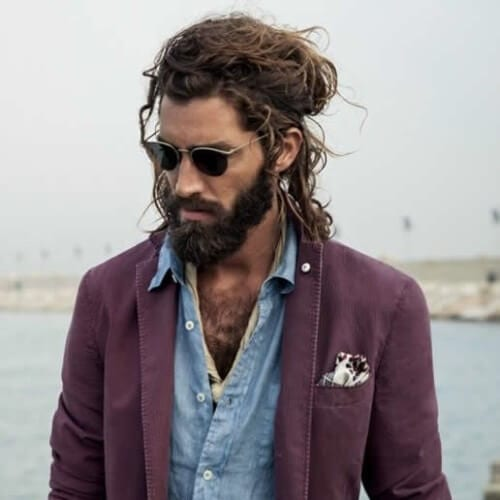 50 Handsome Man Bun Hairstyles - Men Hairstyles World e12fb23d92c