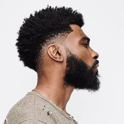 Afro Haircut Styles for Black Men