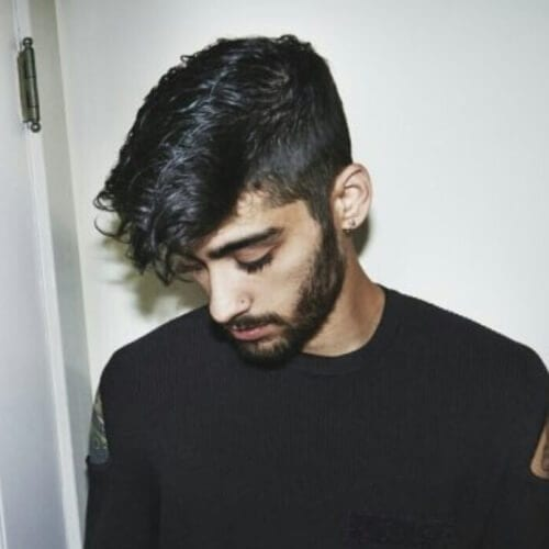 Angular Fringe Zayn Malik Haircut