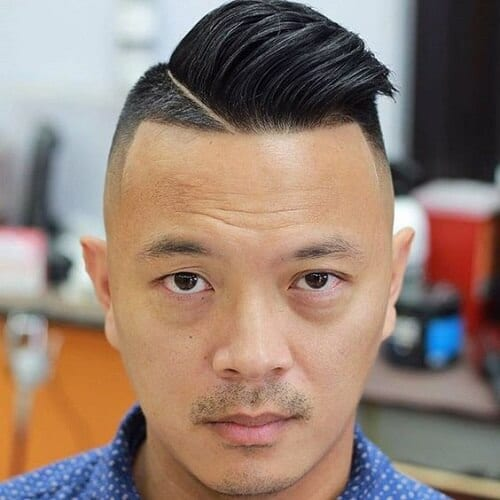 Asymmetrical Modern Hairstyles for Men