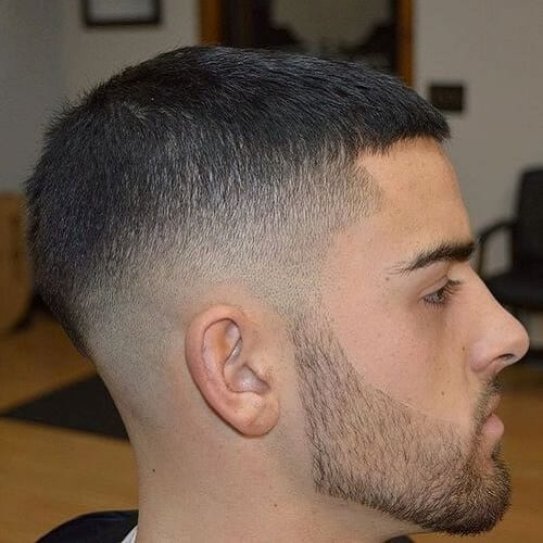 Caesar Cut Modern Hairstyles for Men