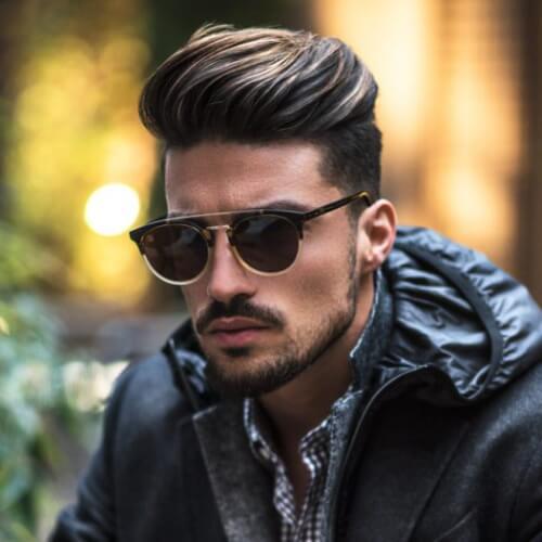 Classy Men's Undercut Hairstyle