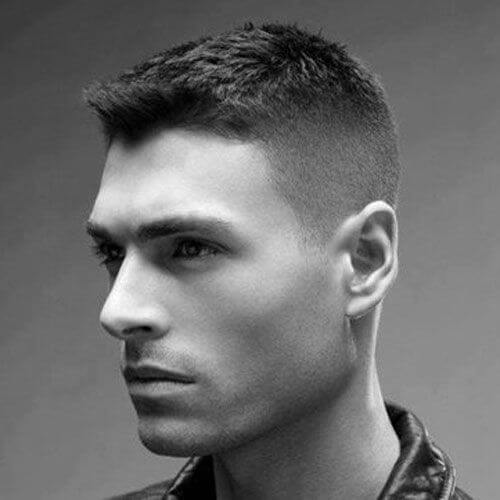 Crew Cut Modern Hairstyles for Men