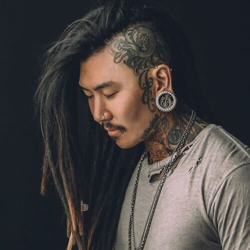 Dreadlocks Undercut