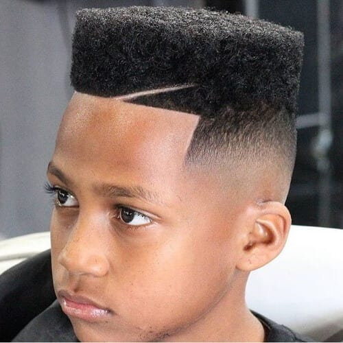 Flattop Temp Fade Haircut