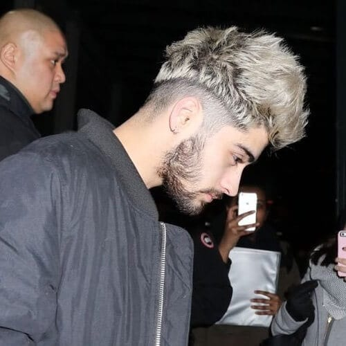 Half Taper Zayn Malik Haircut