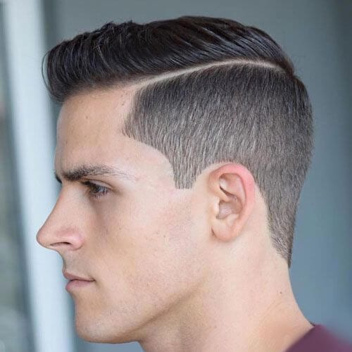 Hard Part Modern Hairstyles for Men