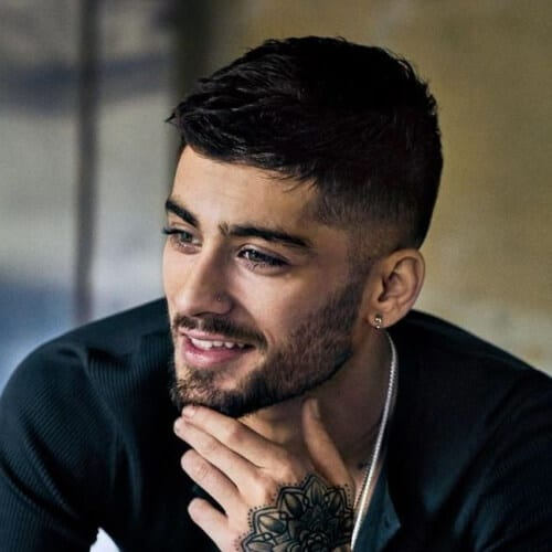 Zayn Malik The Mid Taper Fade Haircut