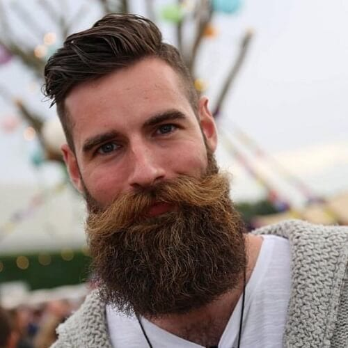 Modern Hairstyles for Men with Full Beards