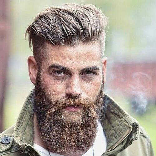 Rugged Undercut Hairstyle for Men