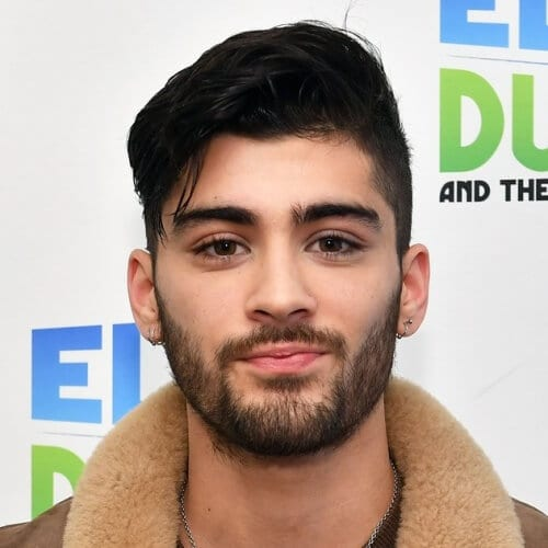 Side Tossed Zayn Malik Haircut