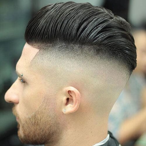 Skin Fade Undercut Hairstyle Men