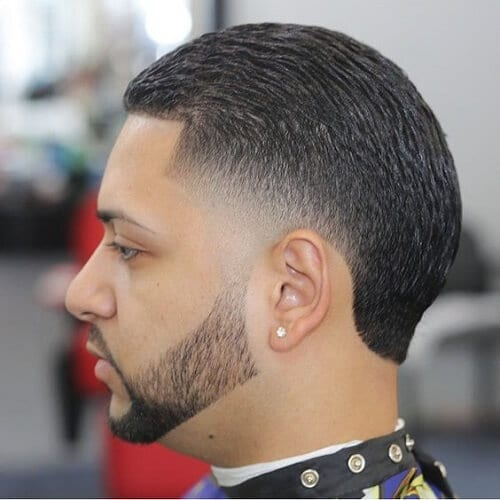 Slicked Back Box Fade