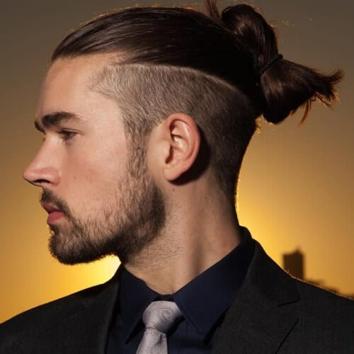 Top Knot Modern Hairstyles for Men