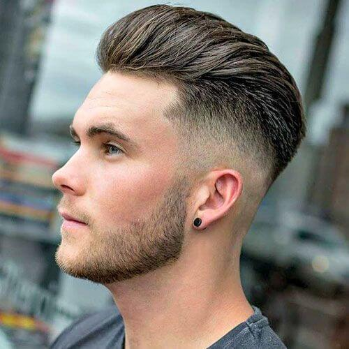 Undercut with Quiff Hairstyle