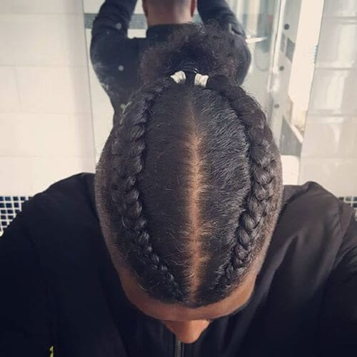 55 Braids For Men Ideas Men Hairstyles World