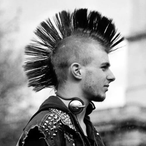 Punk Hairstyles Guys Men World