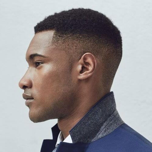 High Taper Fade Afro Hairstyles for Men