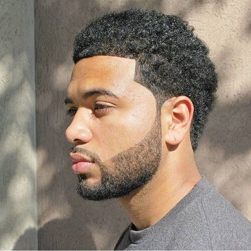 Line Up Afro Hairstyles for Men