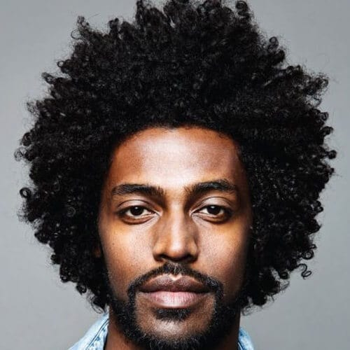 50 Ultra Cool Afro Hairstyles For Men Men Hairstyles World