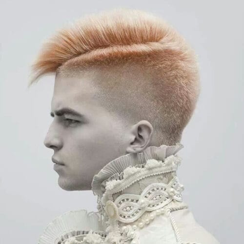 Punk Hairstyles for Guys with Thick Hair