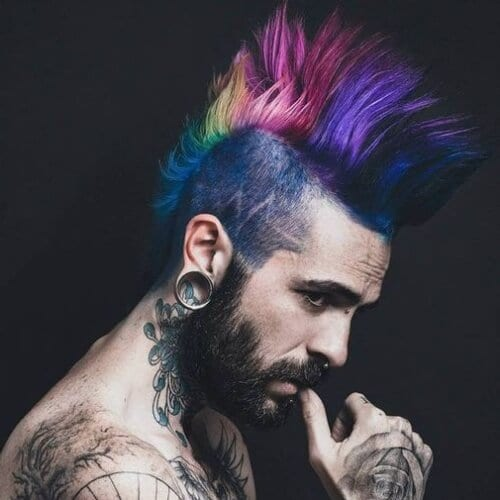 Rainbow Mohawks
