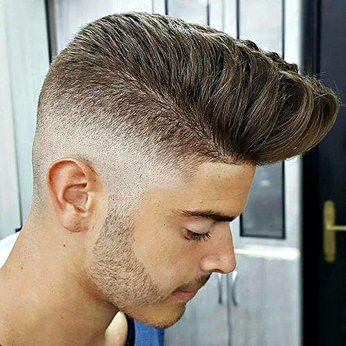 Tapered Pompadours