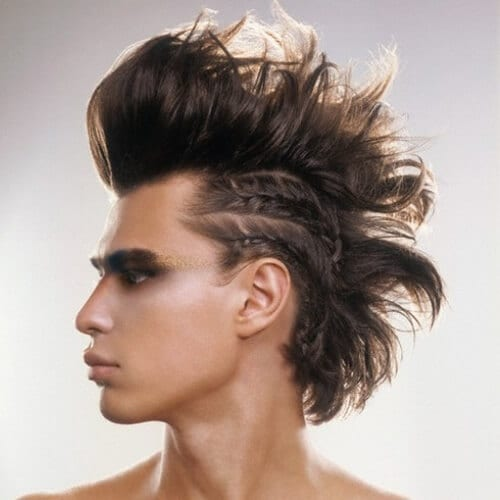 Tribal Punk Hairstyles