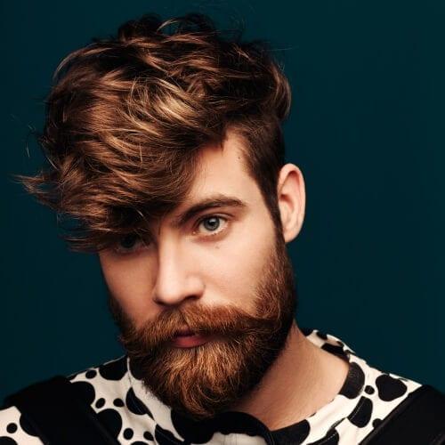 Angular Fringe Layered Hairstyles