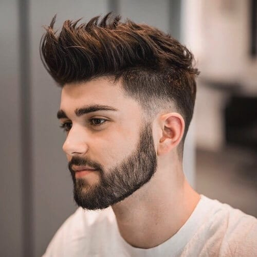 Brushed Up Layered Haircuts for Men