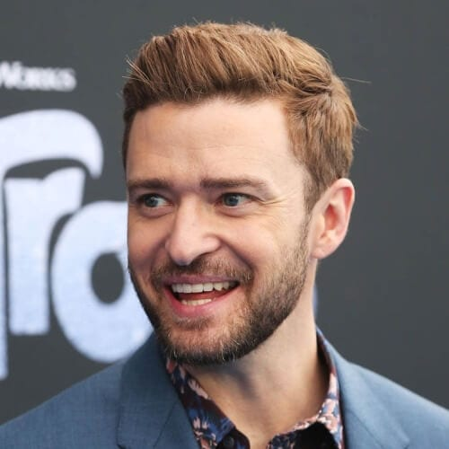 Deep Copper Justin Timberlake Hairstyles