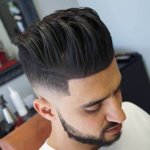 Flowing Pompadour