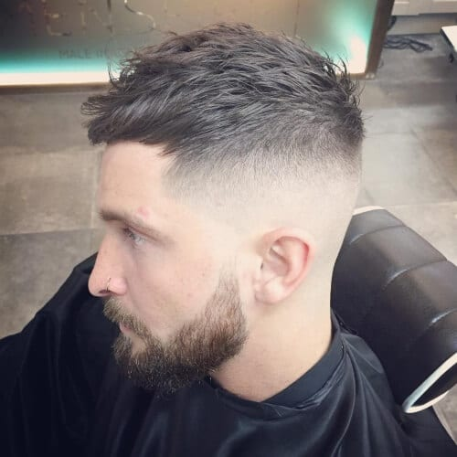High Fade Layered Hairstyles