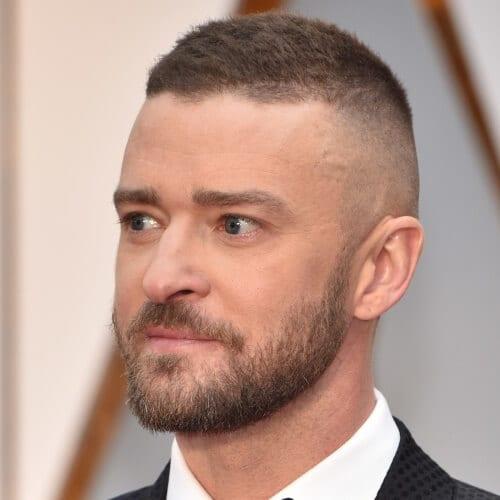 High and Tight Justin Timberlake Hairstyles