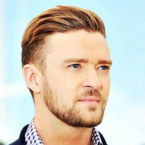 Justin Timberlake Hairstyles with Subtle Highlights
