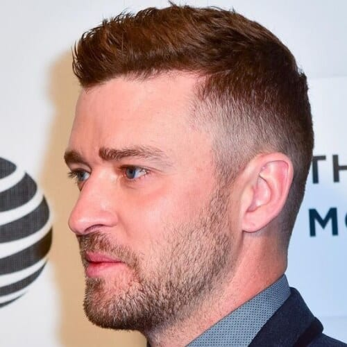 Justin Timberlake Hairstyles with Undercuts