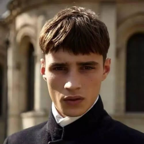 Layered Bowl Cut Hairstyles