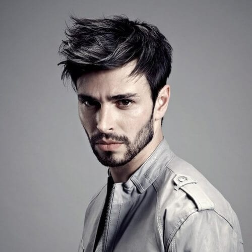 Layered Haircuts for Men with Straight Hair