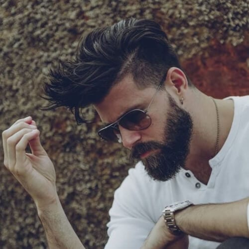 Men's Layered Undercut Hairstyles