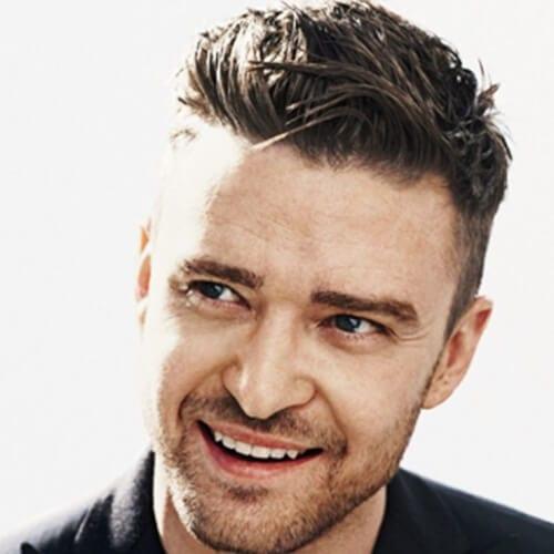 Messy Justin Timberlake Hairstyles