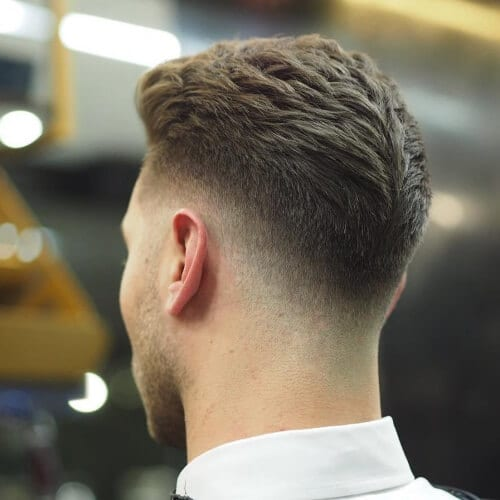 Mid Fade Layered Haircuts