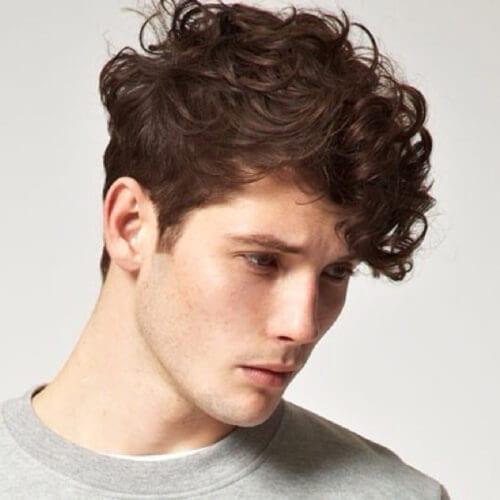 5 Peachy Curly Shag Haircuts For Short, Medium Long Curls