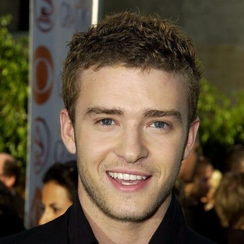 Short Tousled Justin Timberlake Hairstyles