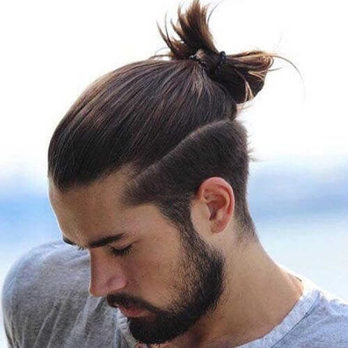 Top Knot Flow Hairstyle